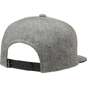 Fox Legacy Snapback Cap Herren heather grey